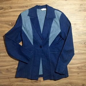 Denim Blazer by Maria Gabriella